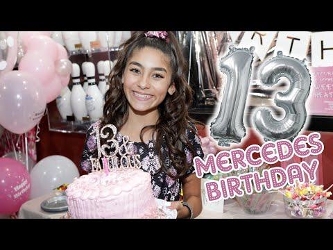 Mercedes Lomelino 13th Birthday Party Vlog // GEM Sisters