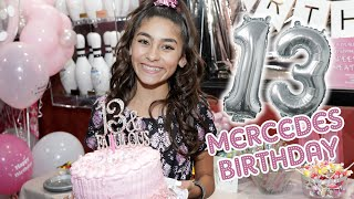 Mercedes Lomelino 13th Birthday Party Vlog // GEM Sisters