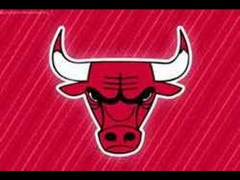 How To Draw Chicago Bulls Logo Youtube