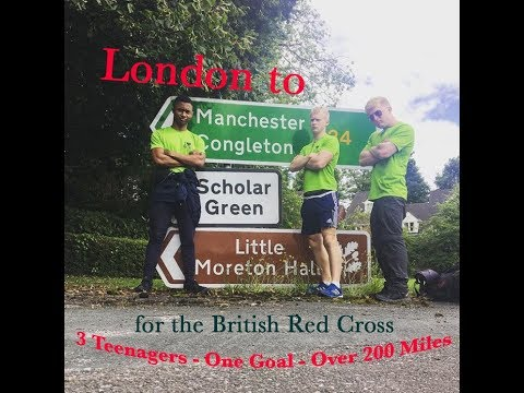 London to Manchester Walk for the British Red Cross