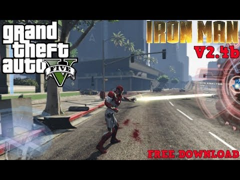 GTA5-IronMan V2 4 FREE DOWNLOAD !!!