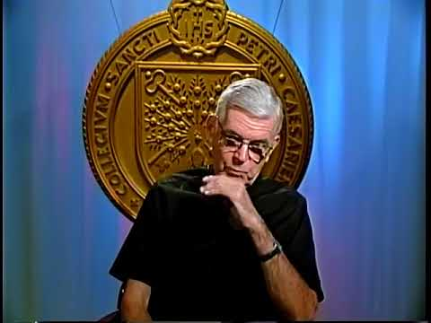 Rev. John Ruane S.J., interview at Saint Peter's University...