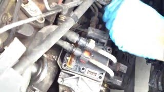 Remove psg5 electronics from Ford Focus 1.8 tddi