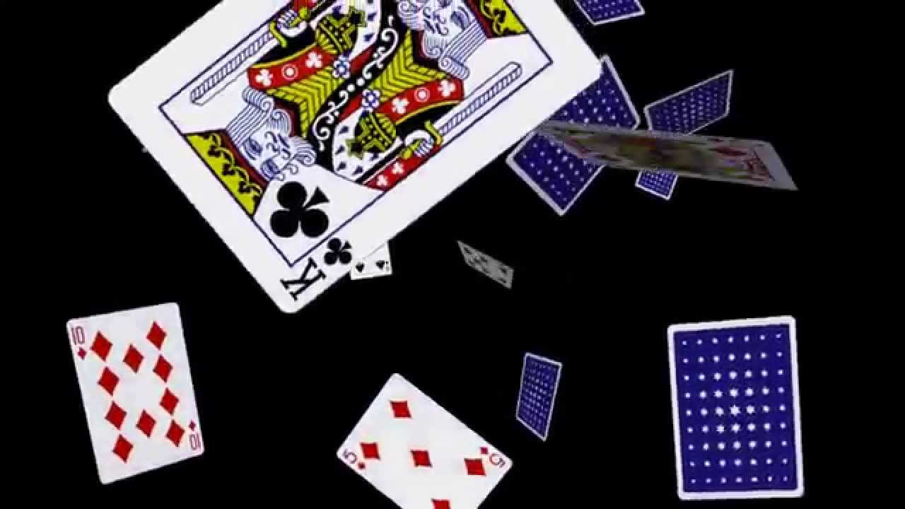Playing Cards Falling Loop 3 Youtube