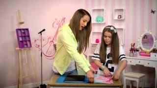 Ultimate Violetta: TIPS Slik gjør du dine egne skolebøker spesielle! - Disney Channel Norge