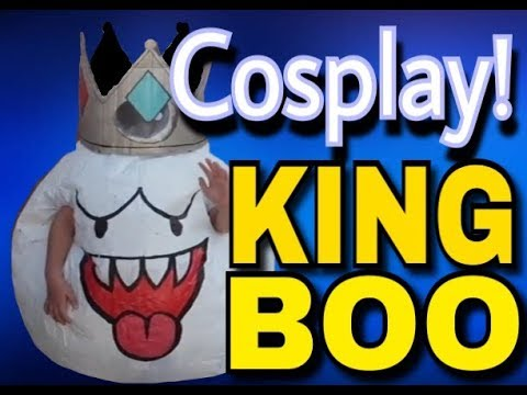 Cosplay-How to make a cosplay KING BOO costume! & Cosplay-How to make a cosplay KING BOO costume! - YouTube