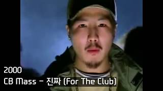 한국 힙합의 변천사 50 (1989 ~ 2015) (Evolution Of K-Hip Hop 50) [Hip Hop]