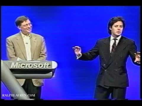 RLTV Interview: David Lauren and Bill Gates at Comdex
