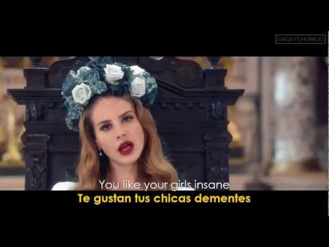 Lana Del Rey ~ Born To Die (Lyrics Sub. Spanish/Español) [HD] Official Video ✔