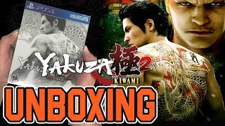 Yakuza Kiwami 2 Steelbook Edition (PS4) Unboxing!!