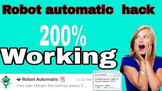 Robot automatic bot hack করে unlimited damoin earn করুন। by trick cyber
