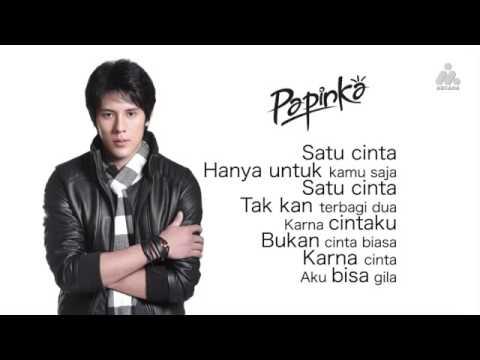 Papinka Hitungan Cinta Official Lirik Video