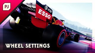 F1 2020 Wheel Settings Guide
