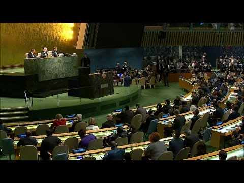 UN General Assembly appoints António Guterres as the next Secretary-General