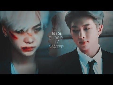 BTS - Blood // Water (Gang AU) 1/10