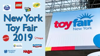 NYC Toy Fair 2019: Walkthroughs of My Favorite Toy Companies