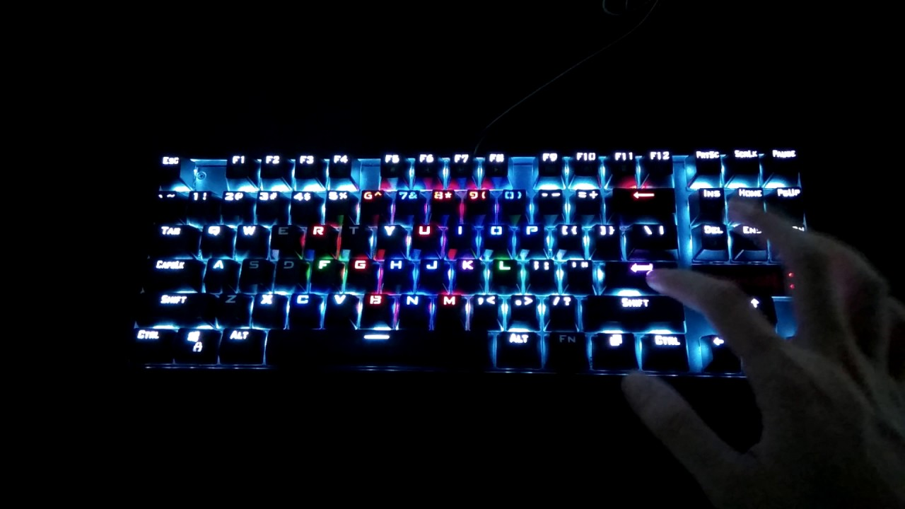 Redragon K552a Kumara Rgb Backlit Mechanical Keyboard Blue Switch