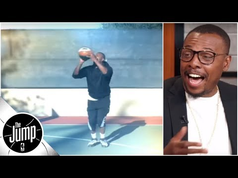 Paul Pierce 'can't miss' in 'comeback' workout video | The Jump | ESPN