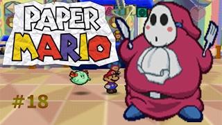 Un pastel para el comelón Guy Paper Mario capítulo 18