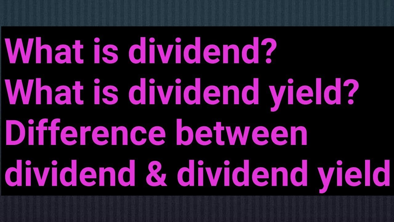 Key Differences Between Interest and Dividend