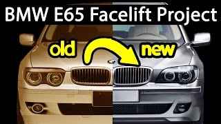 How to facelift a BMW 7