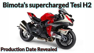 Bimota's supercharged Tesi H2 to go into production in September 2020