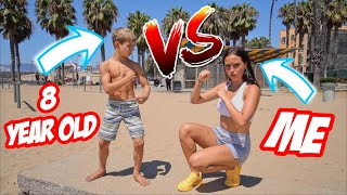 GAME OF FLIP VS AN 8 YEAR OLD!