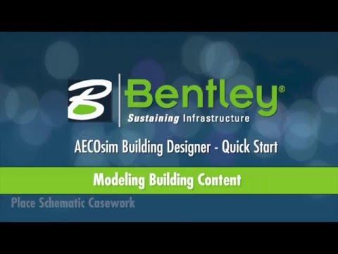 AECOsim Building Designer   A13   Modeling Building Content