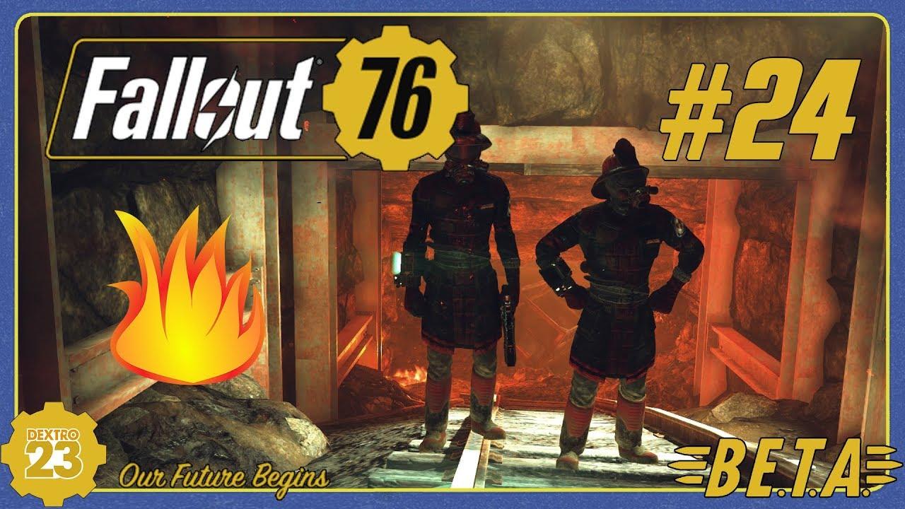 Fallout 76 Karte Deutsch.Fallout 76 B E T A 24 Feuerteufel Prüfung Gameplay German Deutsch