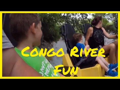 Congo River Soaking - Busch Gardens Tampa