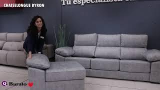 Vídeo: Sofá Chaiselongue BYRON