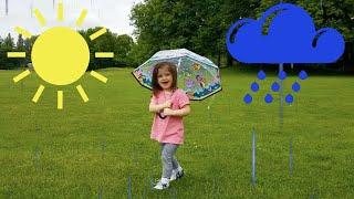 Rain, Rain Go Away - Play with Lia - Kids Music