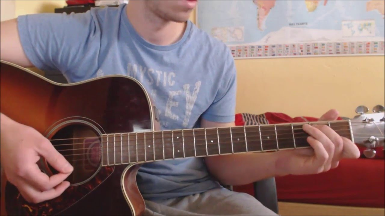 "GUITAR-Lesson: ""Howling At The Moon"" by Milow - YouTube