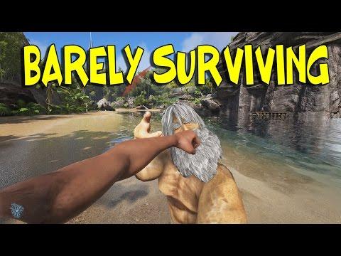 """BARELY SURVIVING"" - NO TAME SERVER W/ H.O.D | ARK: Survival Evolved (60fps)"