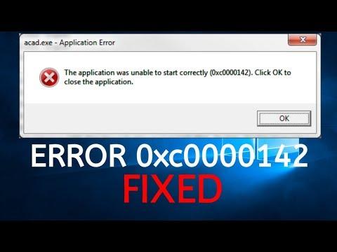 How To Fix Application Error 0xc0000142 on Windows 10?