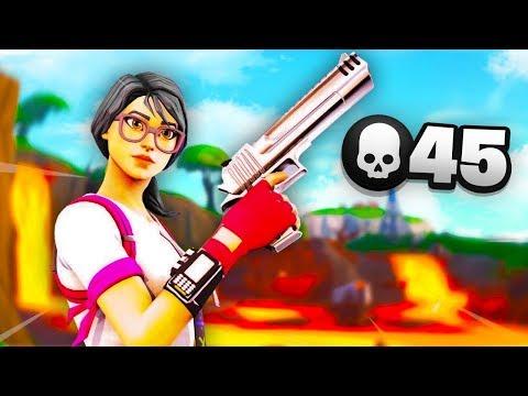 45 kill game in fortnite season 9 - fortnite focus youtube