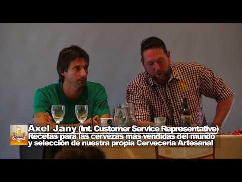 Axel Jany - Weyermann - Festival Somos Cerveceros - Recetas para las Cervezas mas vendidas del mundo