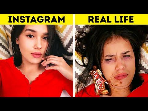 INSTAGRAM VS REALITY || Funny Fails