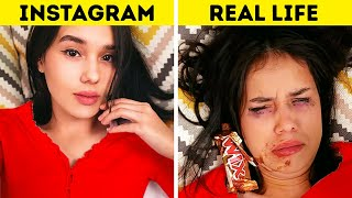 Gambar cover INSTAGRAM VS REALITY || Funny Fails