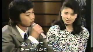 """""""お花ちゃん""""は、新沼健治さんのデュエットですが、森昌子さんの素直な..."""