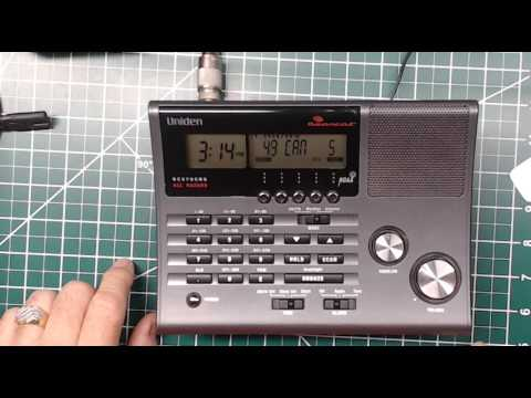 Repeat Uniden Bearcat SDS200 First look by Scanner Master