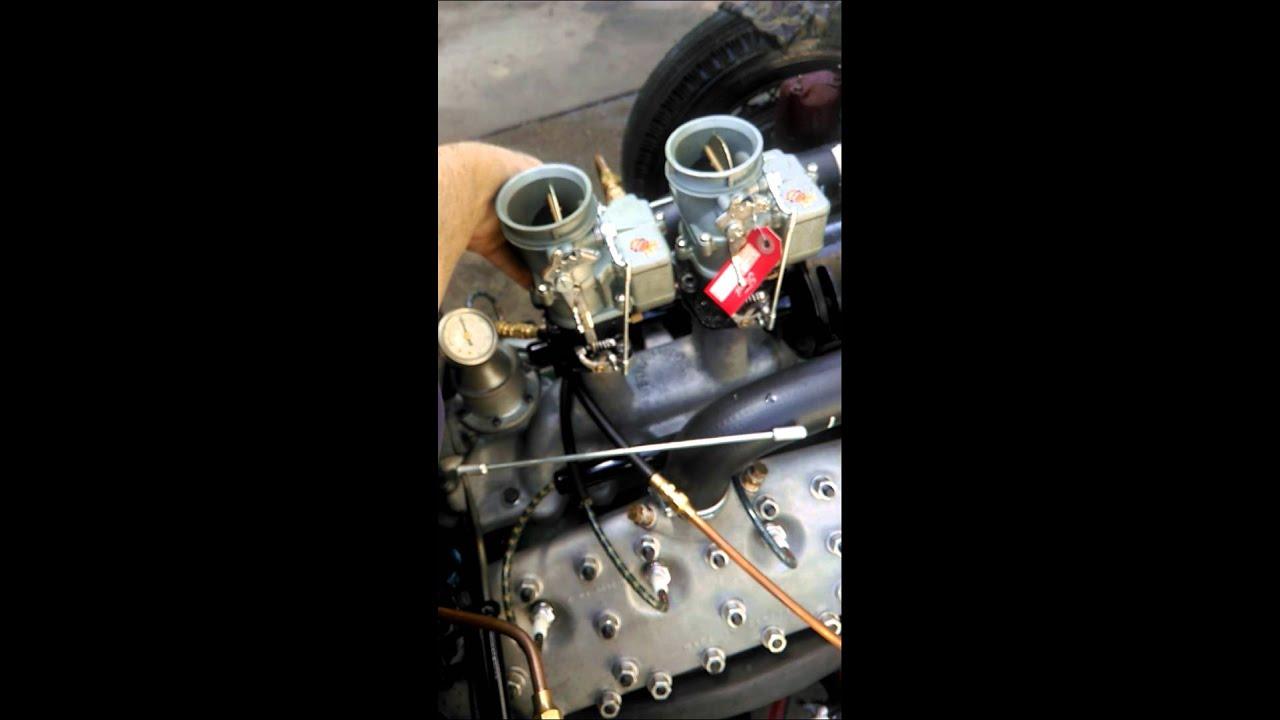 Ford Flathead first run - Isky 400jr