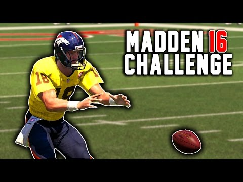Trick Plays and March To The Playoffs!  Peyton Manning The RB #10 - Madden 16 NFL Career Challenge