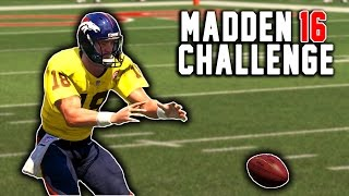 trick plays and march to the playoffs peyton manning the rb 10 madden 16 nfl career challenge