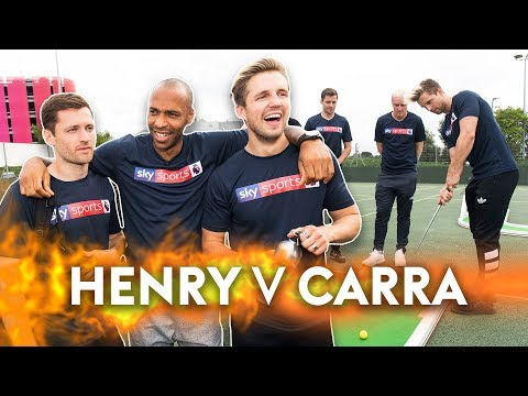 Carragher v Henry | Crazy Golf Challenge! ⛳