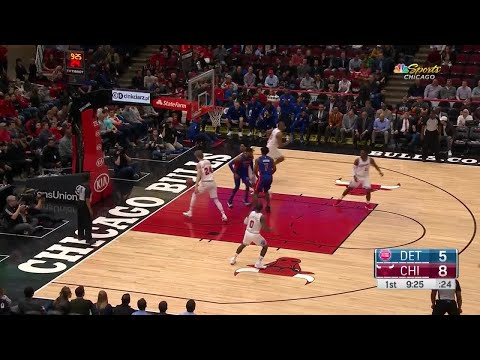 1st Quarter, One Box Video: Chicago Bulls vs. Detroit Pistons