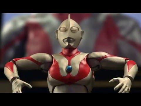 SH Figuarts Ultraman Stop-Motion Commercial (English Sub)