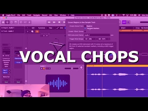HOW to SAMPLE VOCALS like a PRO in Logic Pro X Tutorial