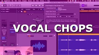 Download HOW to SAMPLE VOCALS like a PRO in Logic Pro X Tutorial Mp3 and Videos
