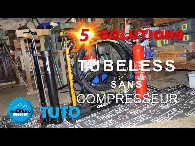vid o 5 solutions pour monter ses pneus vtt tubeless sans compresseur endhuro tuto battle. Black Bedroom Furniture Sets. Home Design Ideas